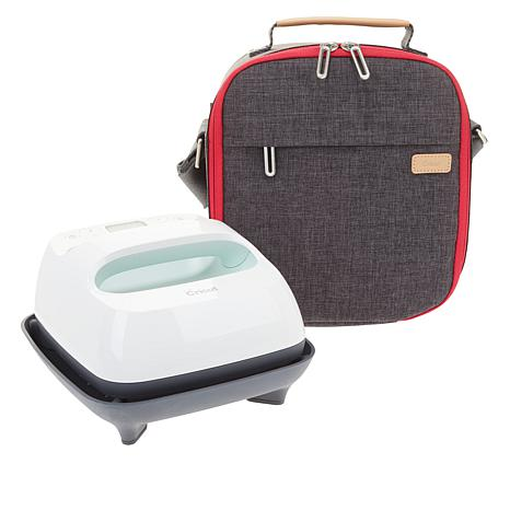 "Cricut® 6""x7"" Mint EasyPress™ 2 with Mat and Tote Travel Bundle"