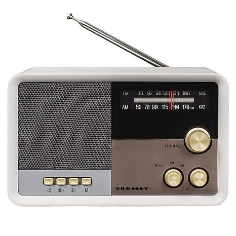 Crosley CR3036D Tribute Vintage AM/FM Bluetooth Radio Speaker