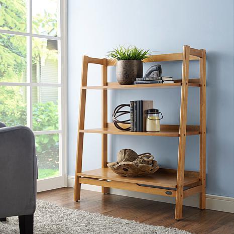 Crosley Furniture Landon Bookcase - Acorn