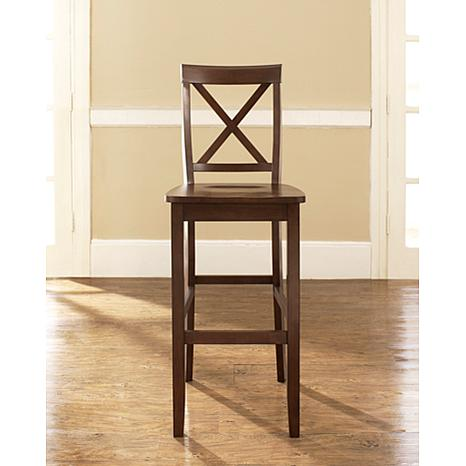 Crosley Furniture X Back 2 Piece 30 Quot Bar Stool Set