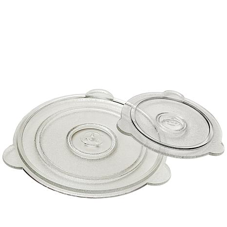 """Cuchina Safe 8"""" and 11"""" Vented Glass Lids"""