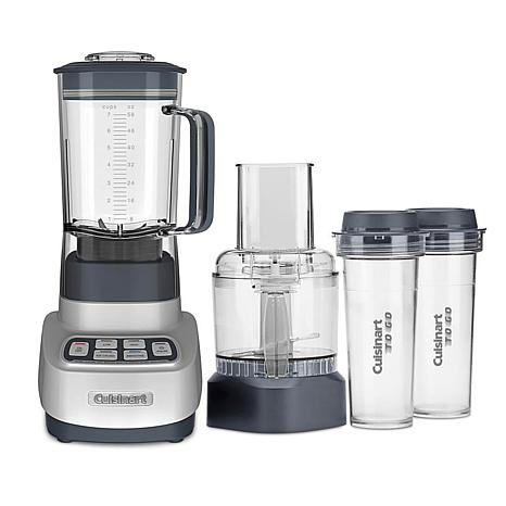 Cuisinart BFP-650 ReMixtrio Blender/Food Processor with Travel Cups