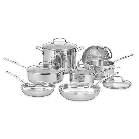 Cuisinart Chef\'s Classic 11-piece Cookware Set