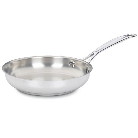Cuisinart Chef's Classic Stainless 8-inch Open Skillet