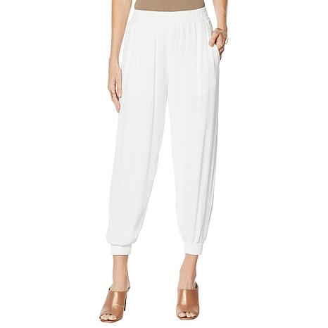 Curations Gauze Jogger - White