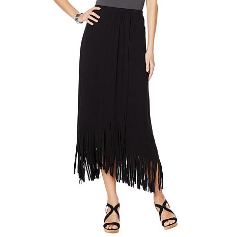 Curations Wrap Skirt