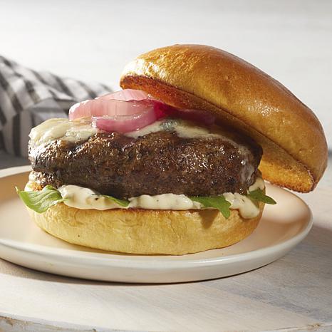 Curtis Stone Angus Pure Beef 1/2lb Pub Burger 8-count Auto-Ship®