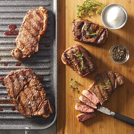 Curtis Stone Angus Pure Beef 6-count Assorted Steak Sampler Auto-Ship®