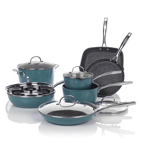 Curtis Stone Dura-Pan Nonstick 13pc Forged Cookware Set