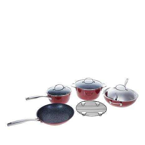 Curtis Stone Dura-Pan Nonstick 8-piece Essential Cookware Set