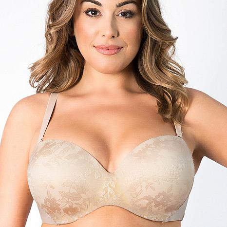 Curvy Couture Strapless Sensation Multi-Way Bra