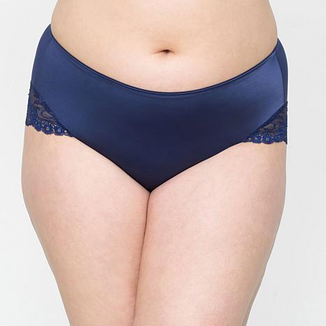 Curvy Couture Tulip Lace Hipster Panty