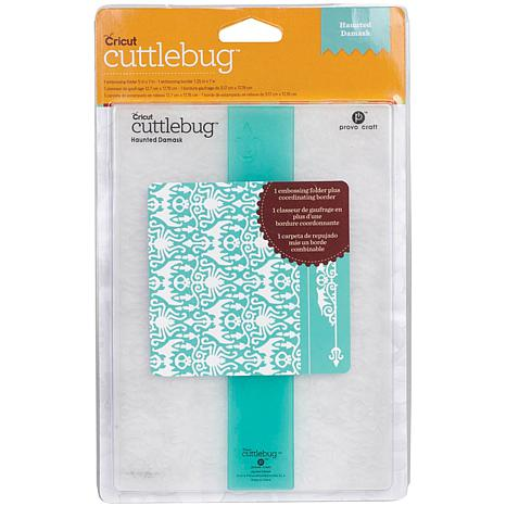 Cuttlebug Embossing Folder/Border Set - Haunted Damask