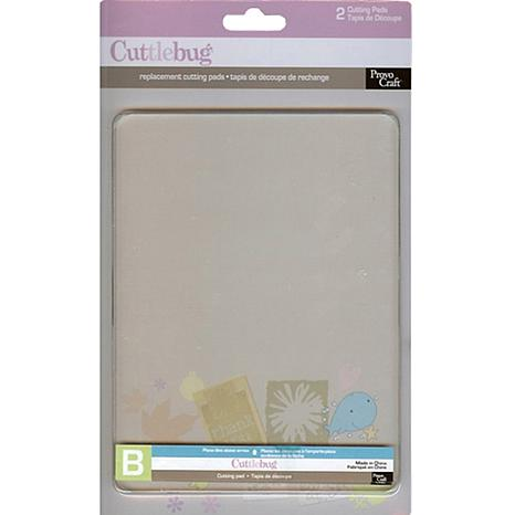 Cuttlebug Pack of 2 Cutting Pad Replacements