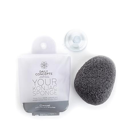 Daily Concepts Your Konjac Sponge - Charcoal
