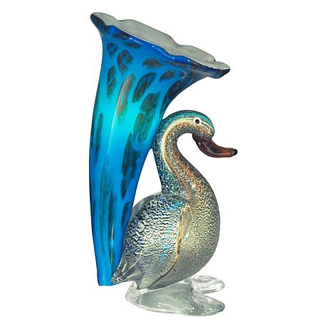 Dale Tiffany Duck-Lily Favrile Glass Accent Lamp
