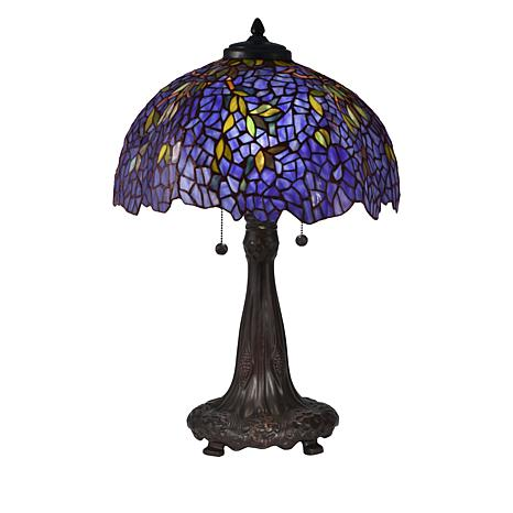 Dale Tiffany Wisteria Tiffany Style Table Lamp