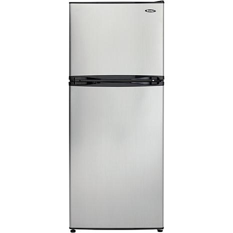 Danby 9.9 CF Refrigerator with Freezer - Black/Steel
