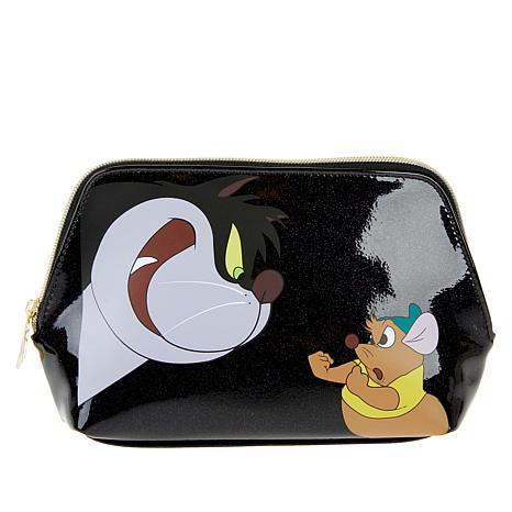 Danielle Nicole Disney Lucifer & Gus Gus Cosmetic Bag