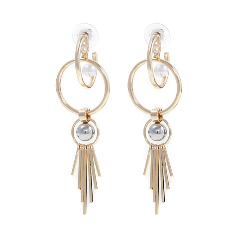 "Danielle Nicole ""Velocity"" Convertible Earrings"