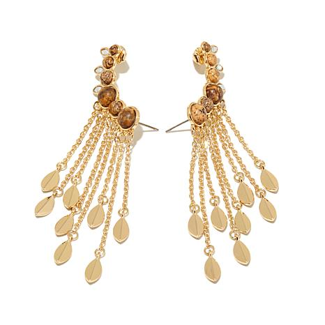 "Danielle Nicole ""Wind Breeze"" Cuff-Design  Earrings"