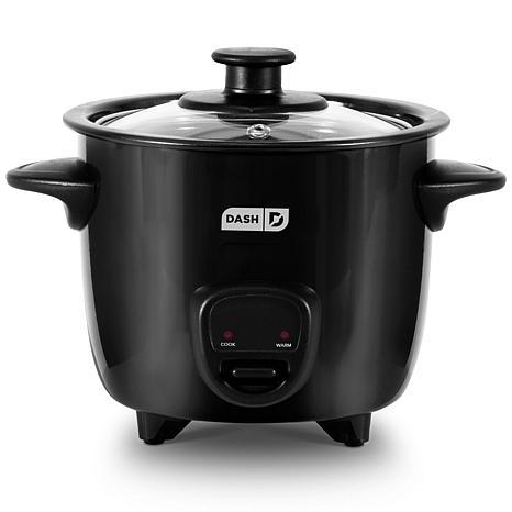 DASH 2-Cup Mini Rice Cooker with 14 Recipes