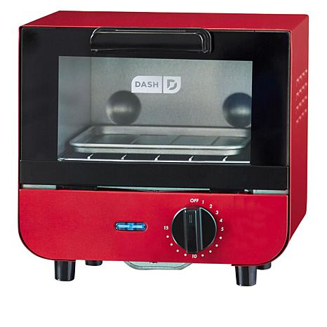 DASH 550-Watt Mini Toaster Oven with Recipes