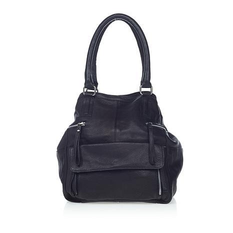 Day & Mood Genuine Leather Hannah Tote - Black