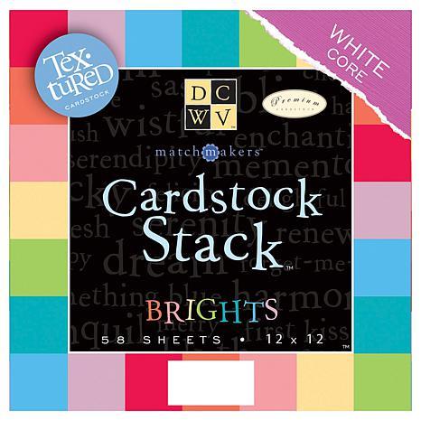 DCWV Match Maker 12x12 Cardstock Stack