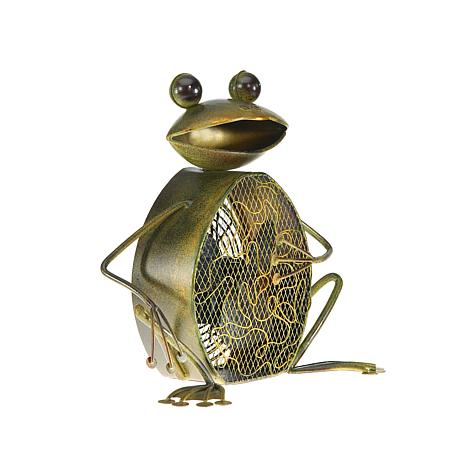 DecoBREEZE 2-Speed Frog Figurine Fan