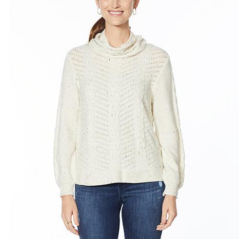 Democracy Removable Turtleneck Sweater