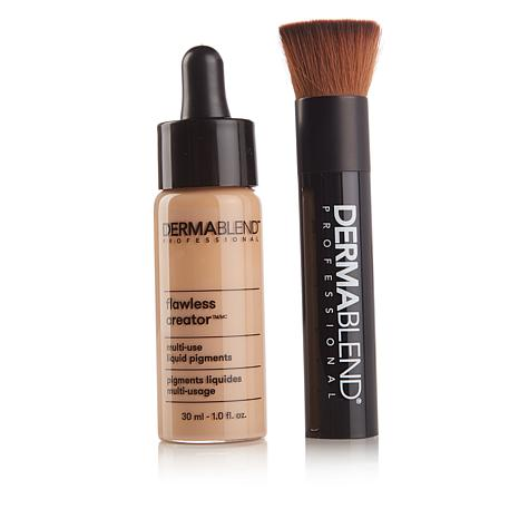 Dermablend Flawless Creator Foundation with Brush - Light 30N
