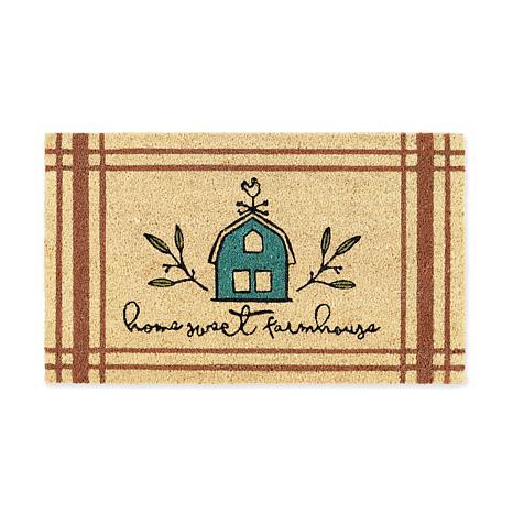 "Design Imports ""Home Sweet Farmhouse"" Doormat"