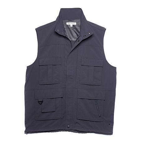 Destinations Men's 15-Pocket Travel Vest - Plus