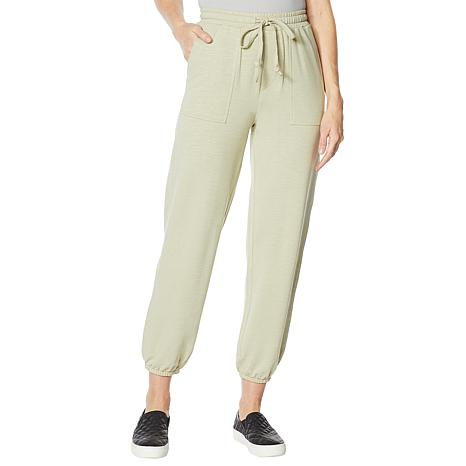 "DG2 by Diane Gilman ""DG Downtime"" French Terry Jogger Pant"