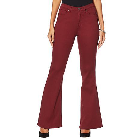 DG2 by Diane Gilman Virtual Stretch Flare Jean - Fashion