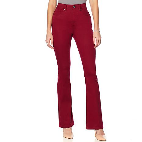 DG2 by Diane Gilman Virtual Stretch Shaper Boot-Cut Jean - Fashion