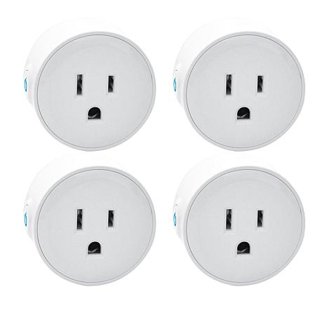 Digital Gadgets 4-pack Mini Wifi Smart Plugs