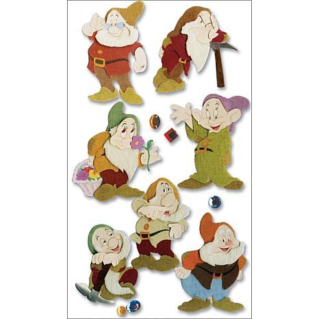 Disney® Dimensional Sticker - The Seven Dwarves