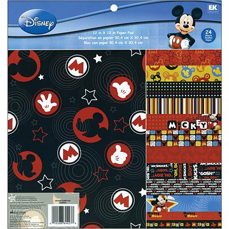 Disney Paper- 24 Sheets of Disney Mickey Mouse