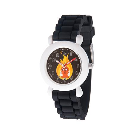 "Disney The Incredibles ""Jack-Jack"" Kid's Black Strap Bracelet Watch"