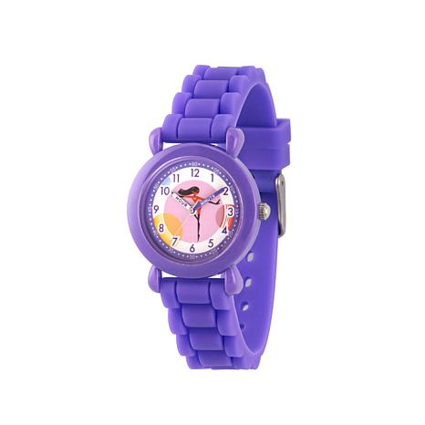 "Disney The Incredibles ""Violet"" Kid's Purple Strap Bracelet Watch"