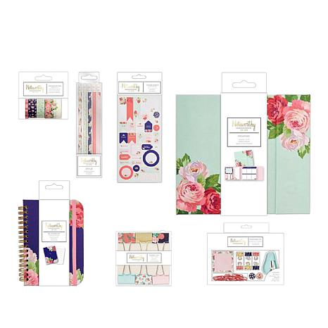 docrafts Noteworthy Stationery & Embellishments - Graphic Floral