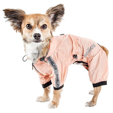 shop for best recognized brands wholesale sales Dog Helios Torrential Shield Adjustable Full Body Dog Raincoat - Large