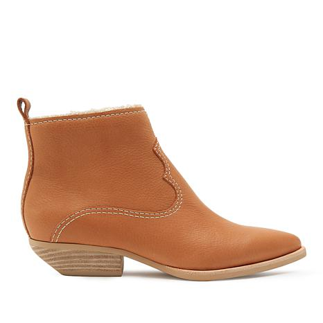 Dolce Vita Unity Leather Western-Inspired Pull-On Boot