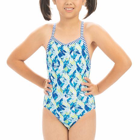 Dolfin Uglies Girl's Printed 1-piece Swimsuit