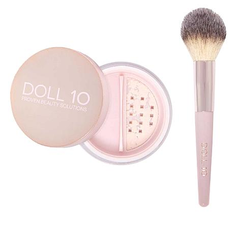 Doll 10 Doll Skin Perfecting Powder with Brush