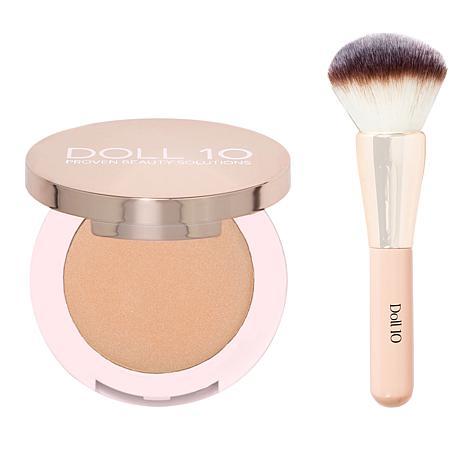 Doll 10 Refocus Skin Enhancing Powder with Brush