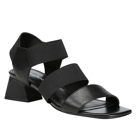 Donald J. Pliner Britni Leather Quarter Slip-On Sandal