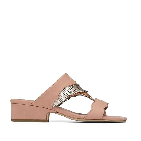 Donald J. Pliner Darcie Fringed Leather Slide Sandal
